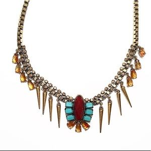 Lucky Brand Crystal Warrior Necklace